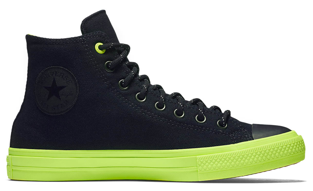 Converse Unisex Chuck Taylor II 2 Shoes Sneakers BlackVolt  N0433CR0U