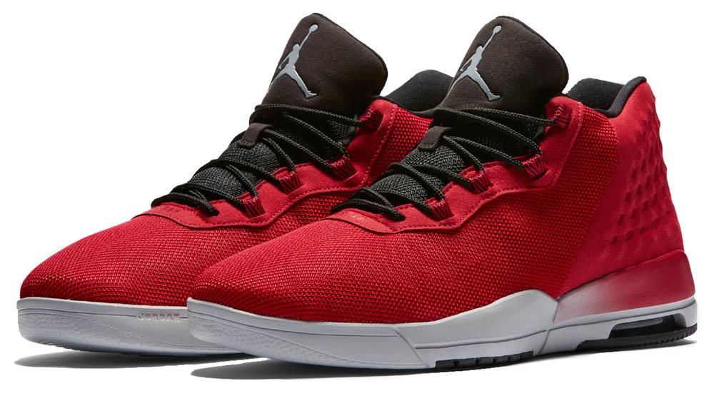 Nike ROT mens jordan akademie, fitness, ROT Nike / wolf Grau-schwarz 450058