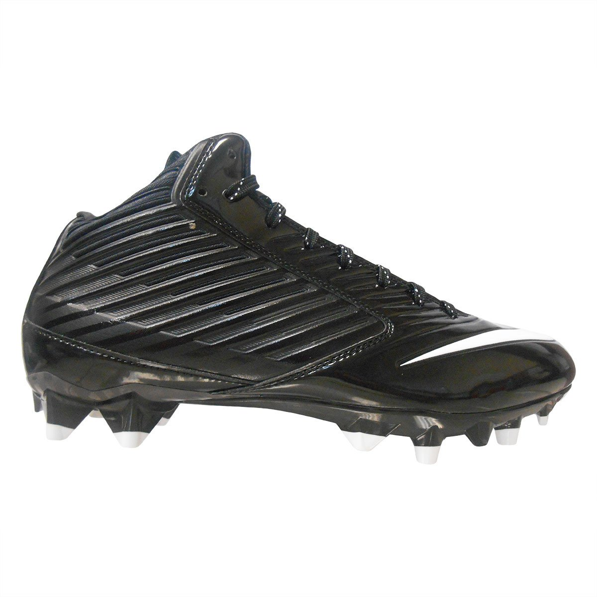 Nike Mens Vapor TD Speed Mid TD Vapor Football Cleats Black/White 2dd384